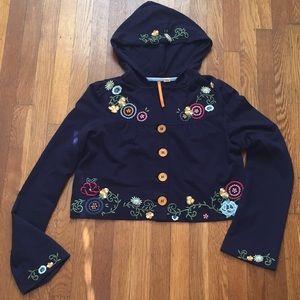 Anthropologie Cropped Jacket